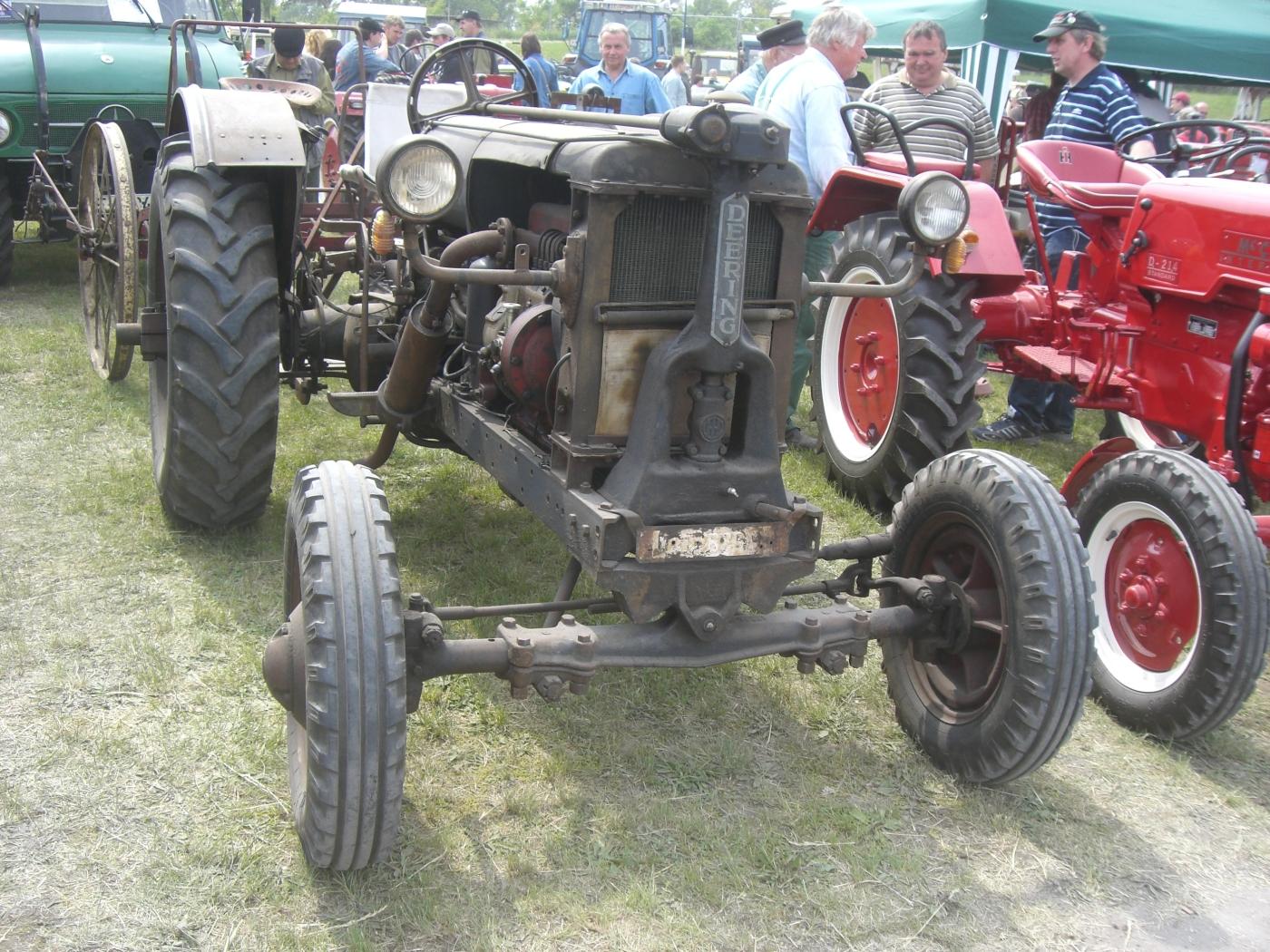 Deering Harvester Company : Backsberg